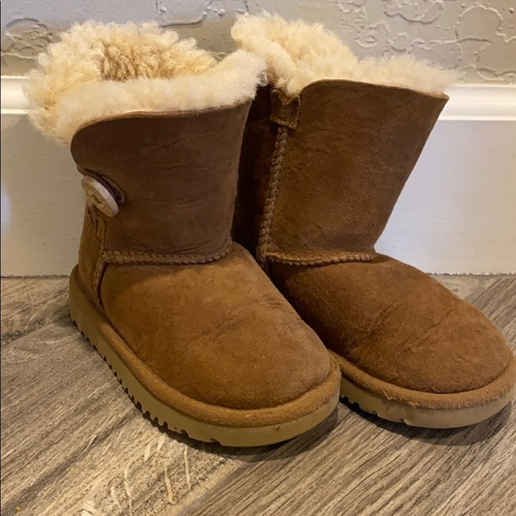UGG Shoes   Girls Brown Boots Toddler